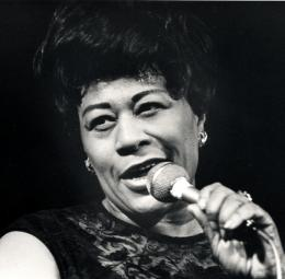 Ella Fitzgerald singing