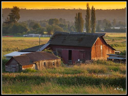 county sunset arlington barn point evening centennial washington trail smokey wa snohomish sking5000