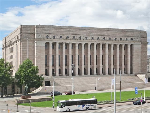El parlamento de Finlandia