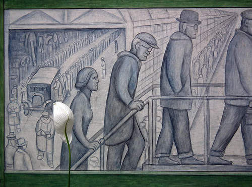 Gustavo thomas theatre detroit industry a diego rivera for Diego rivera mural detroit institute of arts