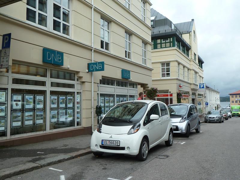 Elektromobily v Kristiansande