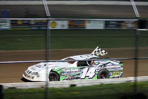 8.11.12 ABC Raceway - ABC Six Cylinder feature winner 14x Tyler Hudack