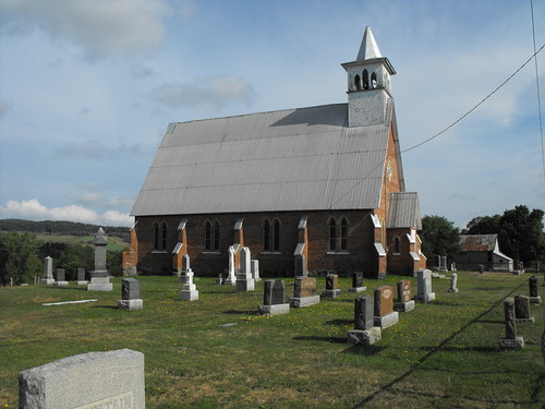 Holy Trinity Anglican Church in Ulverton, Quebec (Kirkdale Hamlet)