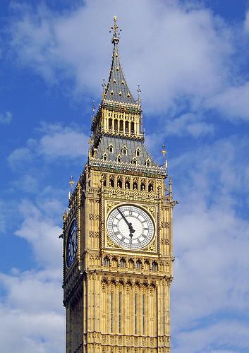 Big Ben, Westminster Palace-Parliament, London, England, UK