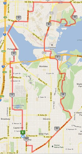 Today's awesome walk, 10.21 miles in 3:11 by christopher575