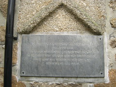 Photo of Jenkyn Keigwin grey plaque