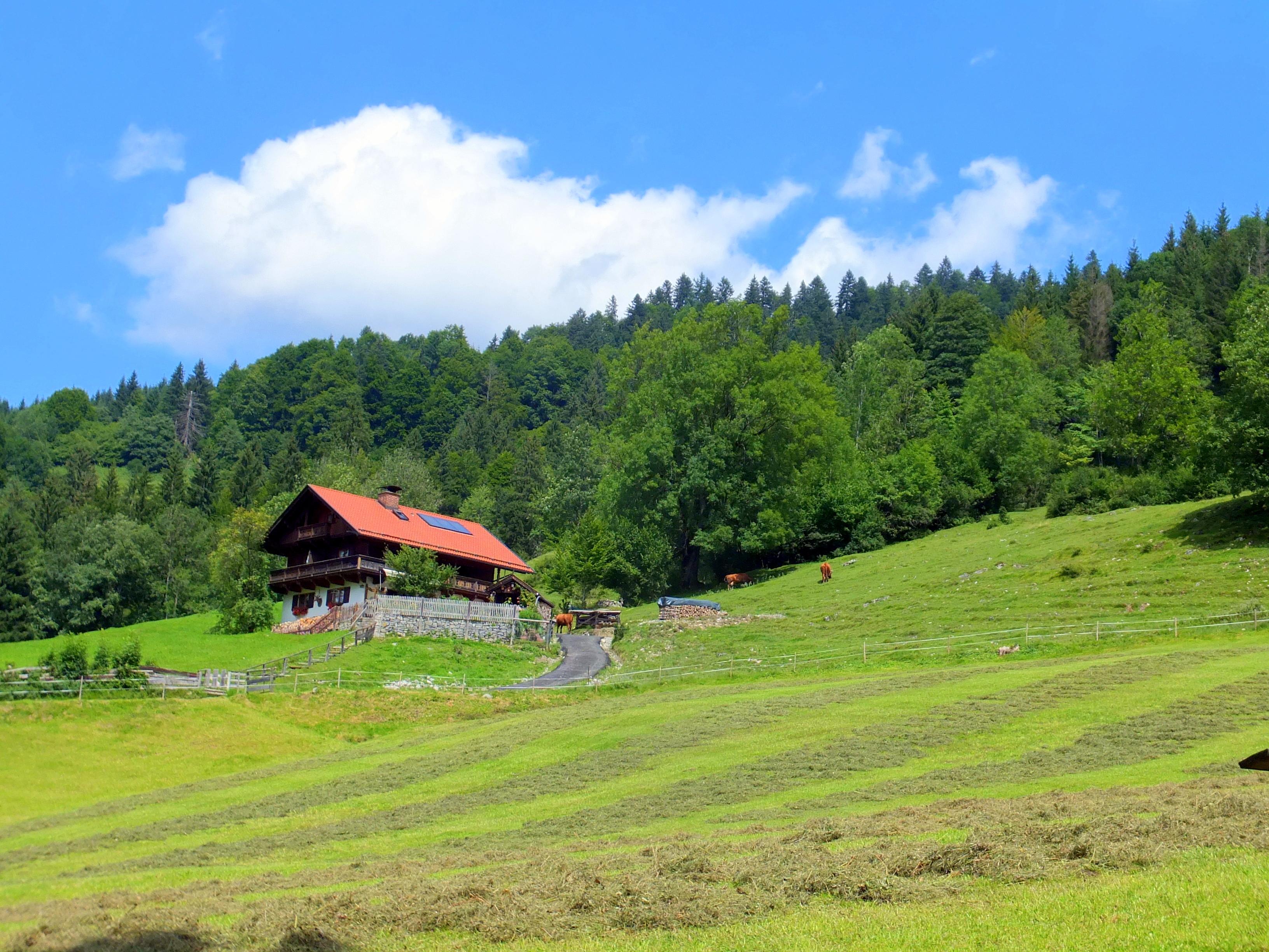 German countryside. Photo credit: James Cridland
