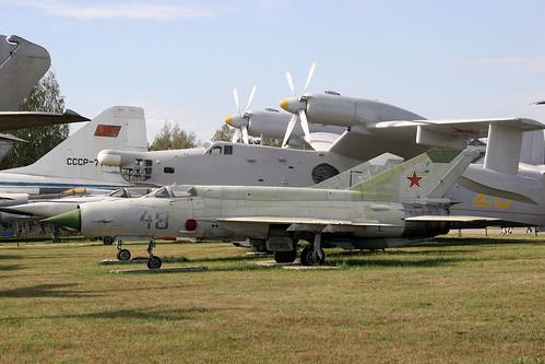 Mikoyan-Gurevich MiG-21bis 48 blue
