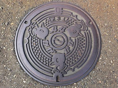 Kaga Ishikawa manhole cover (石川県加賀市のマンホール)