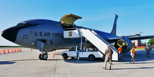 michigan aircraft airshow kc135