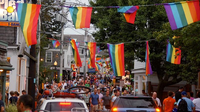 USA gay LGBT GLBT travel: Provincetown, Cape Cod, Massachusetts - tedeytan/Flickr