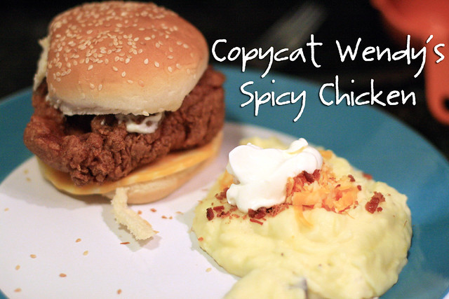 Copycat Wendy's Spicy Chicken