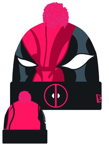 Esquente sua cabeça com Super-Heróis - Eu Quero deadpool