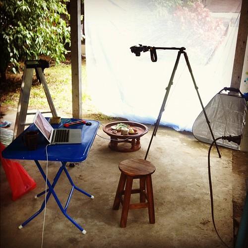 "My ""studio"", Saluang Nai, Chiang Mai:"