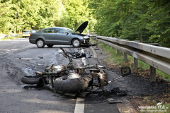 Tödlicher Motorradunfall Aarstraße/B54 22.08.12