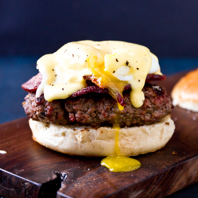 7847546708 5a8e897cd0 z Eggs Benedict Burger