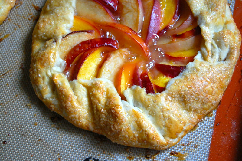 I'm a Baker • stone fruit galette