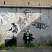 Small photo of Grafitti Pastoor Dijkmansstraat Eindhoven