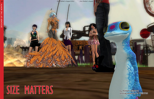Prim Perfect: Issue 42 - Summer 2012: Size Matters
