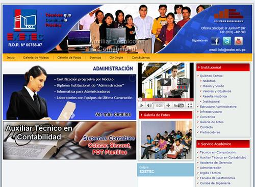 contabilidad computacion capacitación secretariado moquegua cetpro exetec