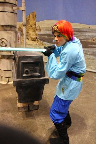 Rainbow Dash Jedi - Star Wars Celebration VI