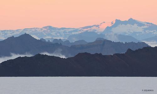 Montañas en Vatnajökull