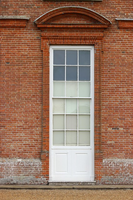Ground Floor Window : Ground floor window with segmental pediment and moulded