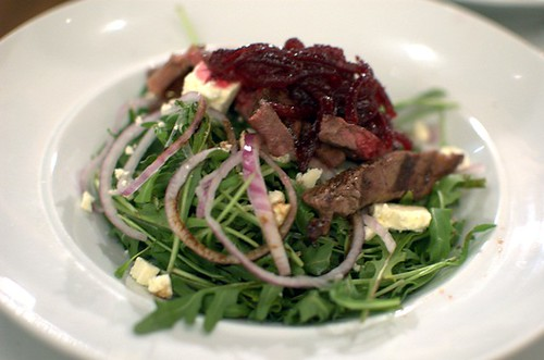 Scotch fillet salad