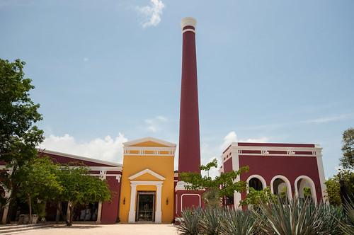 La Hacienda Henequenera y la Casa del Arte Popular Mexicano en Xcaret