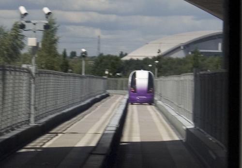 Heathrow driverless pods