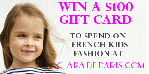 WIN a $100 Gift Card with Clara de Paris