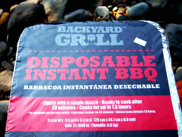 Disposable Instant BBQ