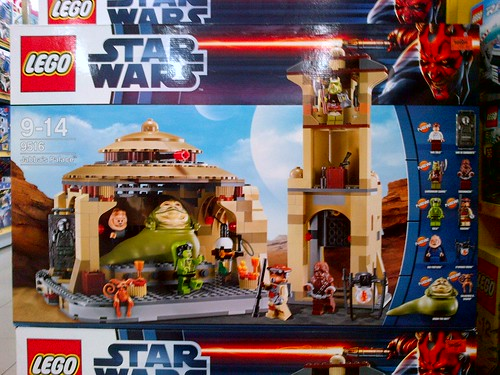 LEGO Jabba's Palace.....look at the price!!!