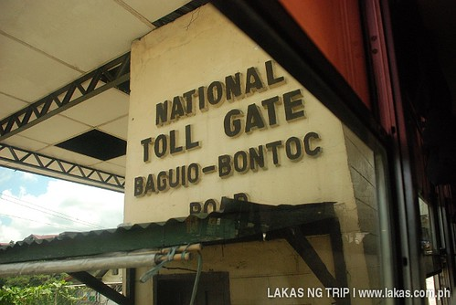 Baguio Toll Gate of Halsema Highway