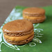Chocolate Salted Caramel Macarons