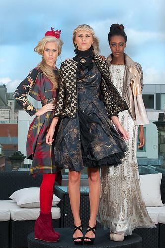Belfast Fashion Week A W 39 12 Launch Sequin Cinderella