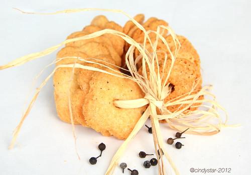 biscottini cacio pepe