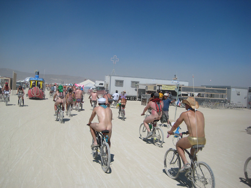 Naked Bike Run & Bar Crawl