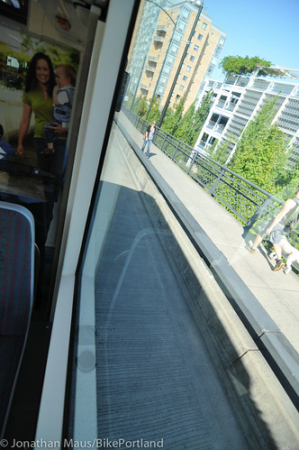 Riding the new streetcar line-7