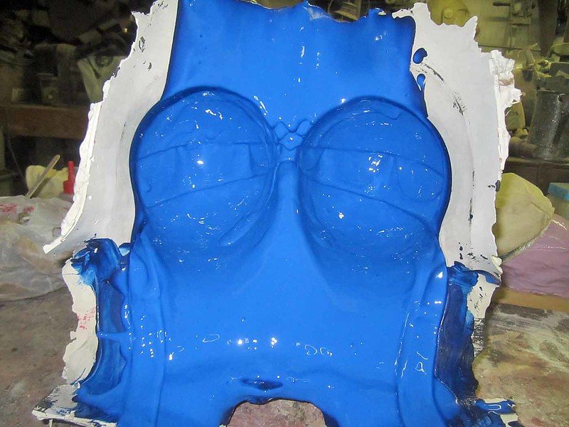 Slipcasting Blue Breasts