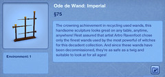 Ode de Wand - Imperial