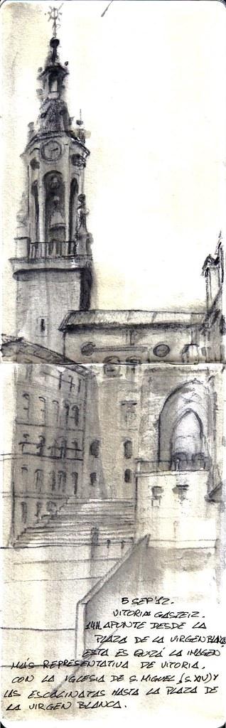 Vitoria- Gasteiz. Plaza de la virgen blanca