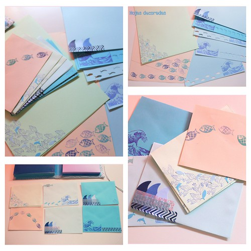 Hojas y sobres personalizados