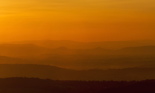 Golden Hour - Malvern Hills