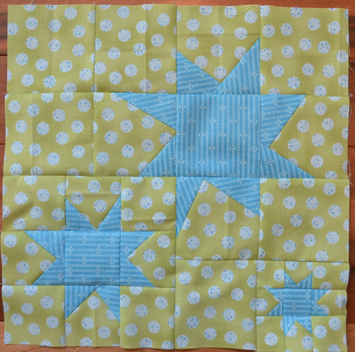Stargazing block for Marci - Modern Blocks Bee