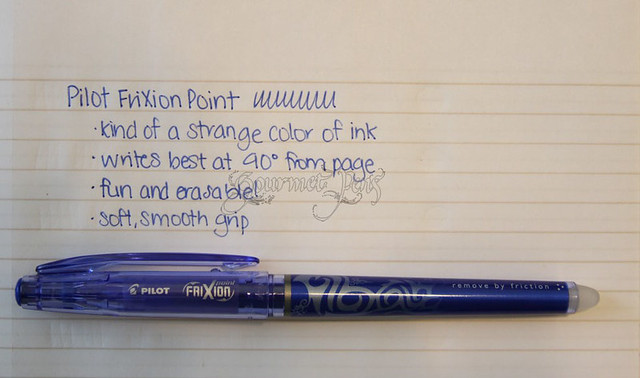 Gourmet Pens Shoplet Com Review Pilot Dry Erase Marker
