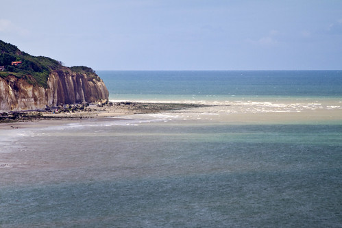 Route des Falaises, Hautot-sur-Mer, Haute-Normandie, Francia