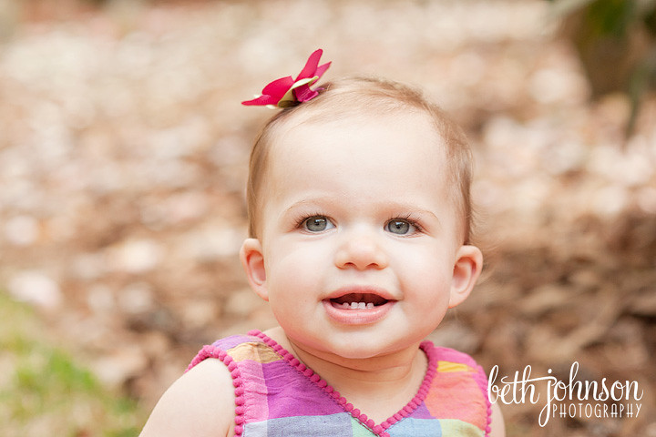 first birthday photography session tallahassee florida photographer