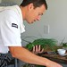 Cam Smith of Joy Road Catering cooks for JoieFarm 2010 Reserve Luncheon