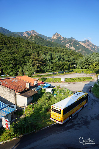 Sokcho - view from Seorak Morning Inn